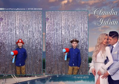 Cabina Foto Showtime - Magic Mirror - Nunta - Claudia & Iulian - Restaurant Paradis Ramnicu Valcea - Event Factory (22)