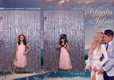 Cabina Foto Showtime - Magic Mirror - Nunta - Claudia & Iulian - Restaurant Paradis Ramnicu Valcea - Event Factory (23)