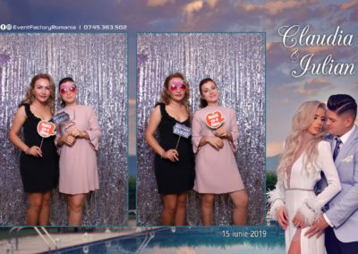 Cabina Foto Showtime - Magic Mirror - Nunta - Claudia & Iulian - Restaurant Paradis Ramnicu Valcea - Event Factory (24)