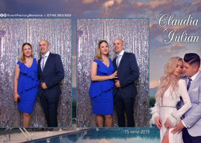 Cabina Foto Showtime - Magic Mirror - Nunta - Claudia & Iulian - Restaurant Paradis Ramnicu Valcea - Event Factory (27)