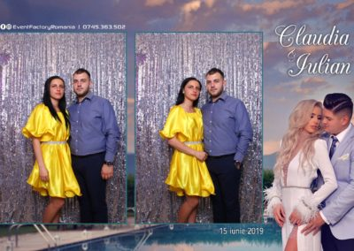 Cabina Foto Showtime - Magic Mirror - Nunta - Claudia & Iulian - Restaurant Paradis Ramnicu Valcea - Event Factory (28)