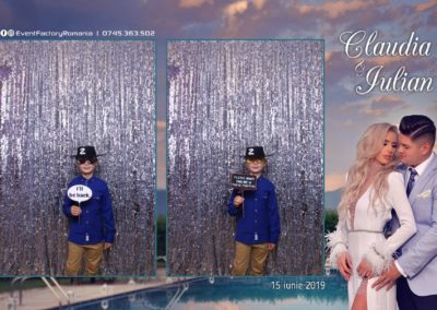 Cabina Foto Showtime - Magic Mirror - Nunta - Claudia & Iulian - Restaurant Paradis Ramnicu Valcea - Event Factory (3)