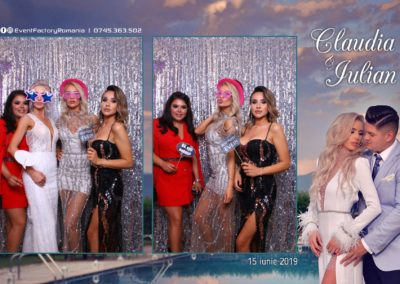Cabina Foto Showtime - Magic Mirror - Nunta - Claudia & Iulian - Restaurant Paradis Ramnicu Valcea - Event Factory (30)