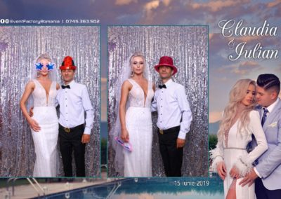 Cabina Foto Showtime - Magic Mirror - Nunta - Claudia & Iulian - Restaurant Paradis Ramnicu Valcea - Event Factory (31)