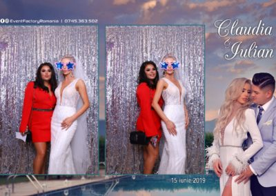 Cabina Foto Showtime - Magic Mirror - Nunta - Claudia & Iulian - Restaurant Paradis Ramnicu Valcea - Event Factory (32)