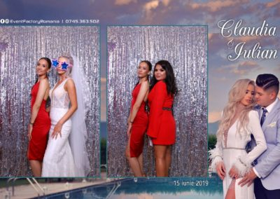 Cabina Foto Showtime - Magic Mirror - Nunta - Claudia & Iulian - Restaurant Paradis Ramnicu Valcea - Event Factory (33)