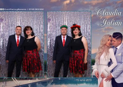 Cabina Foto Showtime - Magic Mirror - Nunta - Claudia & Iulian - Restaurant Paradis Ramnicu Valcea - Event Factory (35)