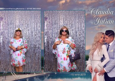 Cabina Foto Showtime - Magic Mirror - Nunta - Claudia & Iulian - Restaurant Paradis Ramnicu Valcea - Event Factory (36)