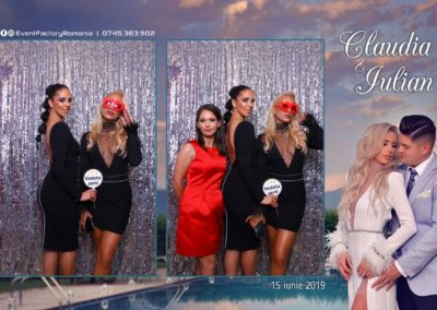 Cabina Foto Showtime - Magic Mirror - Nunta - Claudia & Iulian - Restaurant Paradis Ramnicu Valcea - Event Factory (37)