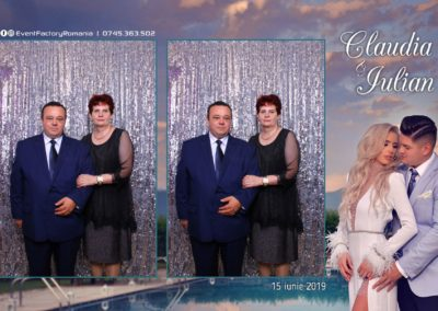 Cabina Foto Showtime - Magic Mirror - Nunta - Claudia & Iulian - Restaurant Paradis Ramnicu Valcea - Event Factory (38)
