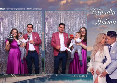 Cabina Foto Showtime - Magic Mirror - Nunta - Claudia & Iulian - Restaurant Paradis Ramnicu Valcea - Event Factory (41)