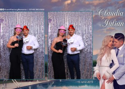 Cabina Foto Showtime - Magic Mirror - Nunta - Claudia & Iulian - Restaurant Paradis Ramnicu Valcea - Event Factory (42)