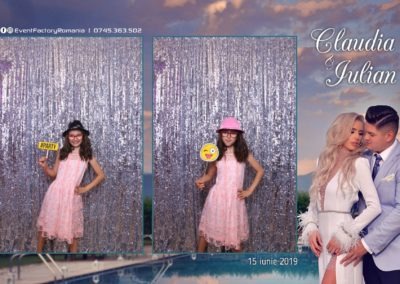 Cabina Foto Showtime - Magic Mirror - Nunta - Claudia & Iulian - Restaurant Paradis Ramnicu Valcea - Event Factory (44)