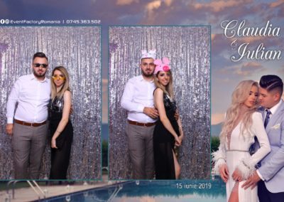 Cabina Foto Showtime - Magic Mirror - Nunta - Claudia & Iulian - Restaurant Paradis Ramnicu Valcea - Event Factory (45)