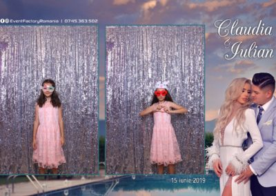 Cabina Foto Showtime - Magic Mirror - Nunta - Claudia & Iulian - Restaurant Paradis Ramnicu Valcea - Event Factory (46)