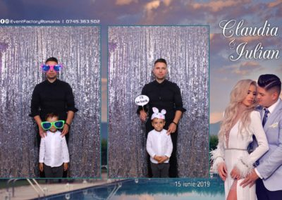 Cabina Foto Showtime - Magic Mirror - Nunta - Claudia & Iulian - Restaurant Paradis Ramnicu Valcea - Event Factory (47)