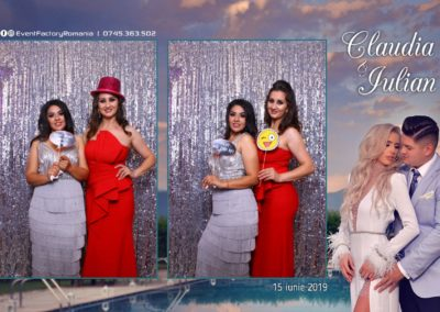 Cabina Foto Showtime - Magic Mirror - Nunta - Claudia & Iulian - Restaurant Paradis Ramnicu Valcea - Event Factory (48)