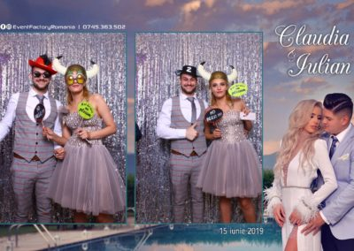 Cabina Foto Showtime - Magic Mirror - Nunta - Claudia & Iulian - Restaurant Paradis Ramnicu Valcea - Event Factory (49)