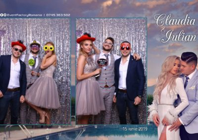 Cabina Foto Showtime - Magic Mirror - Nunta - Claudia & Iulian - Restaurant Paradis Ramnicu Valcea - Event Factory (50)