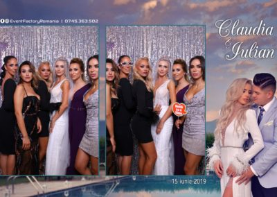 Cabina Foto Showtime - Magic Mirror - Nunta - Claudia & Iulian - Restaurant Paradis Ramnicu Valcea - Event Factory (51)