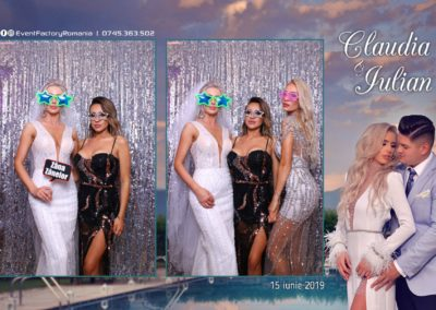 Cabina Foto Showtime - Magic Mirror - Nunta - Claudia & Iulian - Restaurant Paradis Ramnicu Valcea - Event Factory (54)