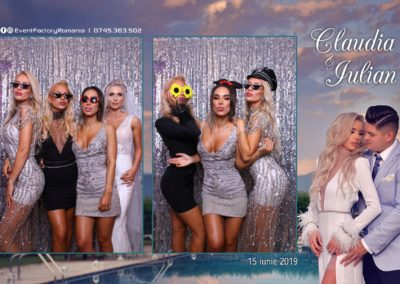 Cabina Foto Showtime - Magic Mirror - Nunta - Claudia & Iulian - Restaurant Paradis Ramnicu Valcea - Event Factory (55)