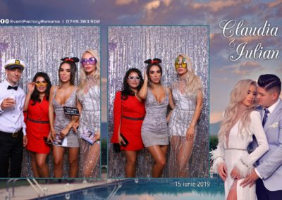 Cabina Foto Showtime - Magic Mirror - Nunta - Claudia & Iulian - Restaurant Paradis Ramnicu Valcea - Event Factory (57)