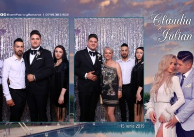 Cabina Foto Showtime - Magic Mirror - Nunta - Claudia & Iulian - Restaurant Paradis Ramnicu Valcea - Event Factory (59)