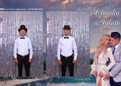 Cabina Foto Showtime - Magic Mirror - Nunta - Claudia & Iulian - Restaurant Paradis Ramnicu Valcea - Event Factory (6)