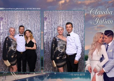 Cabina Foto Showtime - Magic Mirror - Nunta - Claudia & Iulian - Restaurant Paradis Ramnicu Valcea - Event Factory (61)