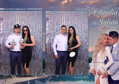 Cabina Foto Showtime - Magic Mirror - Nunta - Claudia & Iulian - Restaurant Paradis Ramnicu Valcea - Event Factory (62)