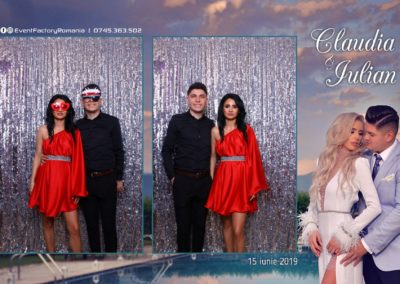 Cabina Foto Showtime - Magic Mirror - Nunta - Claudia & Iulian - Restaurant Paradis Ramnicu Valcea - Event Factory (65)