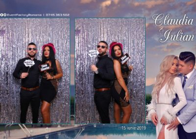 Cabina Foto Showtime - Magic Mirror - Nunta - Claudia & Iulian - Restaurant Paradis Ramnicu Valcea - Event Factory (66)