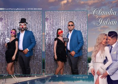 Cabina Foto Showtime - Magic Mirror - Nunta - Claudia & Iulian - Restaurant Paradis Ramnicu Valcea - Event Factory (67)