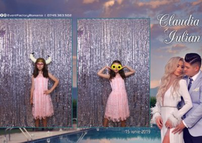 Cabina Foto Showtime - Magic Mirror - Nunta - Claudia & Iulian - Restaurant Paradis Ramnicu Valcea - Event Factory (69)