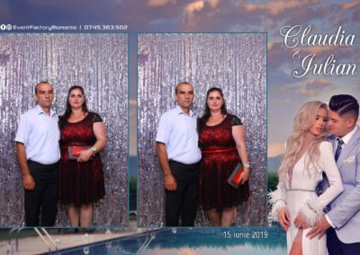 Cabina Foto Showtime - Magic Mirror - Nunta - Claudia & Iulian - Restaurant Paradis Ramnicu Valcea - Event Factory (70)