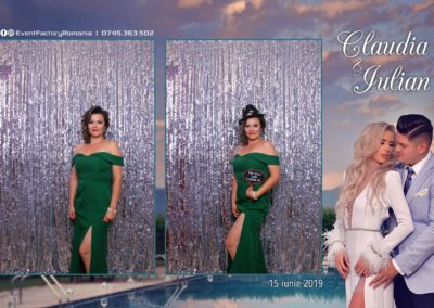 Cabina Foto Showtime - Magic Mirror - Nunta - Claudia & Iulian - Restaurant Paradis Ramnicu Valcea - Event Factory (72)