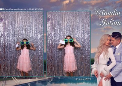 Cabina Foto Showtime - Magic Mirror - Nunta - Claudia & Iulian - Restaurant Paradis Ramnicu Valcea - Event Factory (73)