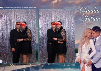 Cabina Foto Showtime - Magic Mirror - Nunta - Claudia & Iulian - Restaurant Paradis Ramnicu Valcea - Event Factory (75)