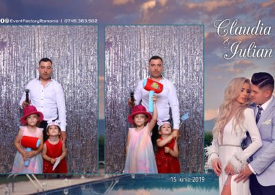 Cabina Foto Showtime - Magic Mirror - Nunta - Claudia & Iulian - Restaurant Paradis Ramnicu Valcea - Event Factory (76)