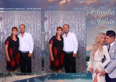 Cabina Foto Showtime - Magic Mirror - Nunta - Claudia & Iulian - Restaurant Paradis Ramnicu Valcea - Event Factory (77)