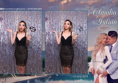 Cabina Foto Showtime - Magic Mirror - Nunta - Claudia & Iulian - Restaurant Paradis Ramnicu Valcea - Event Factory (78)