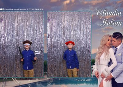 Cabina Foto Showtime - Magic Mirror - Nunta - Claudia & Iulian - Restaurant Paradis Ramnicu Valcea - Event Factory (87)