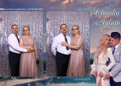 Cabina Foto Showtime - Magic Mirror - Nunta - Claudia & Iulian - Restaurant Paradis Ramnicu Valcea - Event Factory (89)