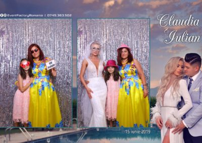 Cabina Foto Showtime - Magic Mirror - Nunta - Claudia & Iulian - Restaurant Paradis Ramnicu Valcea - Event Factory (91)