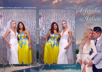 Cabina Foto Showtime - Magic Mirror - Nunta - Claudia & Iulian - Restaurant Paradis Ramnicu Valcea - Event Factory (92)