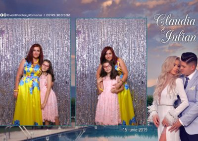 Cabina Foto Showtime - Magic Mirror - Nunta - Claudia & Iulian - Restaurant Paradis Ramnicu Valcea - Event Factory (93)