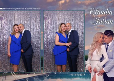 Cabina Foto Showtime - Magic Mirror - Nunta - Claudia & Iulian - Restaurant Paradis Ramnicu Valcea - Event Factory (94)