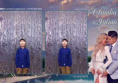 Cabina Foto Showtime - Magic Mirror - Nunta - Claudia & Iulian - Restaurant Paradis Ramnicu Valcea - Event Factory (95)