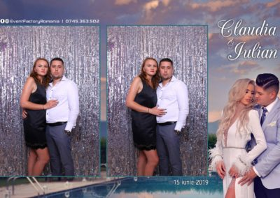 Cabina Foto Showtime - Magic Mirror - Nunta - Claudia & Iulian - Restaurant Paradis Ramnicu Valcea - Event Factory (96)